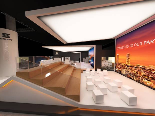 Seat tendrá un 'stand' propio en el Mobile World Congress con una propuesta inédita en sus tres años de participación