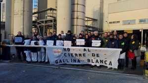 Los trabajadores de Gallina Blanca en Sant Joan Despí comienzan una huelga indefinida