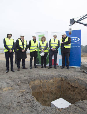 Sant Esteve Sesrovires inaugura la ampliación del polígono industrial de Can Margarit