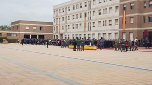 Celebración de la patrona de la Guardia Civil en la Comandancia General de Sant Andreu de la Barca