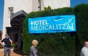 El hotel medicalizado de Sant Andreu que se desmantela por el rechazo de Salut ha salido gratis