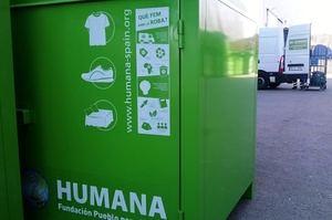 El Baix Llobregat depositó, el año pasado, 235 toneladas de textil usado en los contenedores de Humana