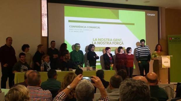 Toque de atención de ICV Baix Llobregat a los 'Comunes' por el proceso de construcción de 'Catalunya en Comú'