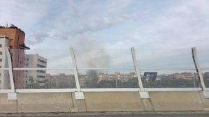 Incendio en un amplio restaurante chino de Cornellà