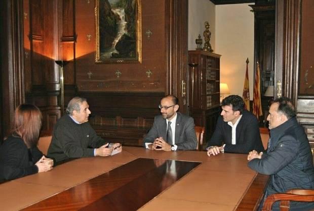 """Sant Andreu de la Barca activa su """"ofensiva diplomática"""" para reactivar el enlace de la A-2 y la AP-7"""