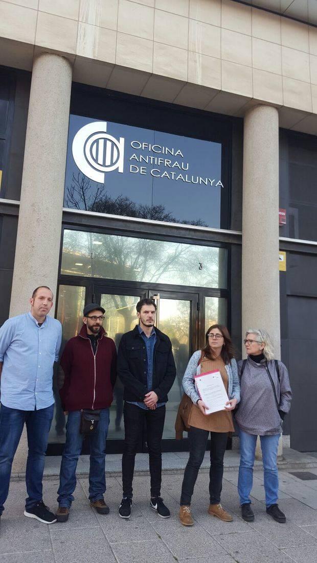 La CUP-Poble Actiu del Barcelonès porta a Antifrau les presumptes irregularitats del Consell Comarcal