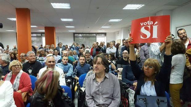 Acto de presentación de la plataforma de apoyo a Pedro Sánchez