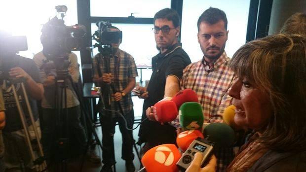 """Núria Marín: """"Estoy harta, harta de cartas que no se entienden, de una política que no existe y de dos presidentes que no están a la altura"""""""