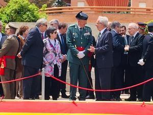 La Guardia Civil celebra su 175 aniversario en el cuartel de Sant Andreu de la Barca