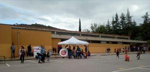 Tancament de la campanya electoral en Torrelles, la Catalunya en miniatura