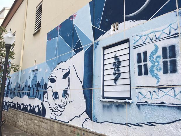 Un mural contra el estigma de las enfermedades mentales