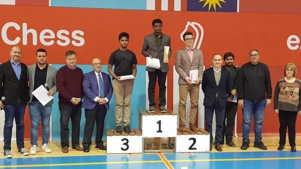 Narayanan, Bartel y Erigaisi forman el podio del primer El Llobregat Open Chess.