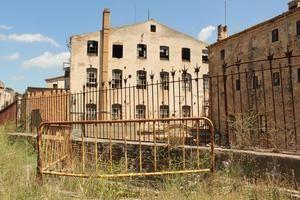 La antigua colonia de Can Bros, en Martorell.