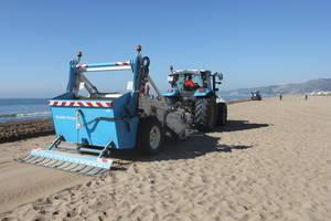 El Área Metropolitana de Barcelona da comienzo al labrado de las playas