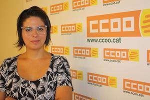 Liliana Reyes es la nueva coordinadora de CCOO en L'Hospitalet.