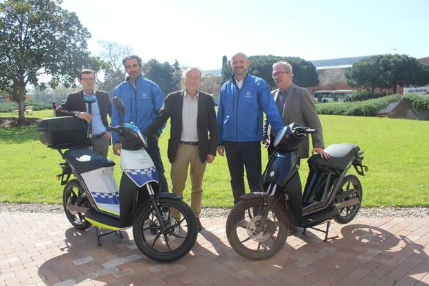 Los ciclomotores eléctricos, el nuevo impulso para los servicios municipales