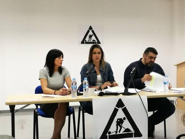 UGT del Baix Llobregat presenta la campaña contra la explotación laboral de las empresas multiservicios bajo el lema 'A igual trabajo, igual sueldo'