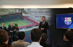 El nuevo Estadi Johan Cruyff se construirá en Sant Joan Despí, junto a los terrenos de la Ciutat Esportiva Joan Gamper