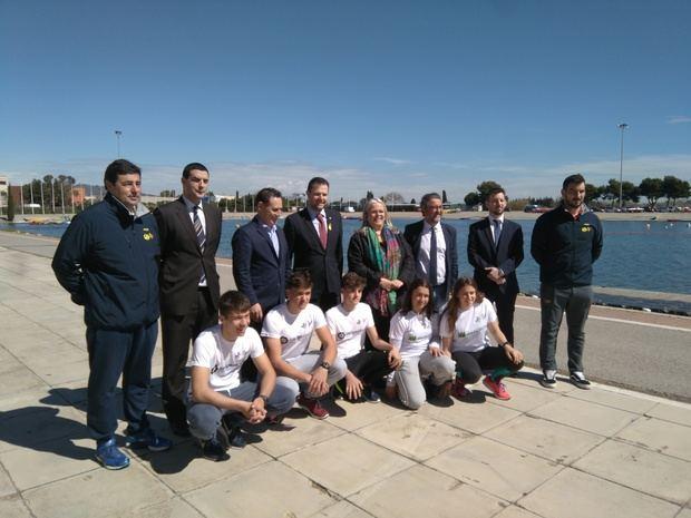 Vuelve el espíritu olímpico al Canal Olímpic de Castelldefels