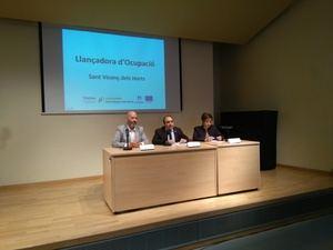 Sant Vicenç dará trabajo a una veintena de personas con un innovador programa de orientación laboral