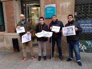 Frente común en L'Hospitalet por la retirada de las bicis de Mobike