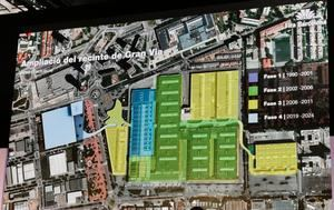 La Fira Gran Vía de L'Hospitalet crecerá con un nuevo pabellón de 60.000 metros cuadrados