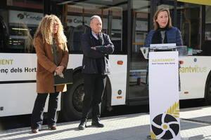 Sant Vicenç dels Horts inaugura una nueva red de bus urbano