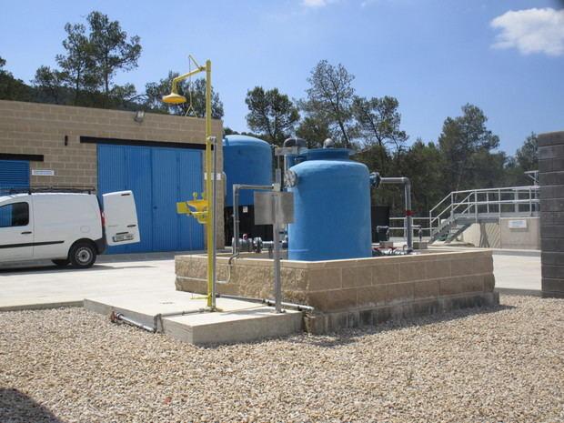 La Agencia Catalana del Agua y Vallirana suman esfuerzos para sanear las aguas residuales