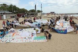 """El programa de suport als refugiats de AMB, """"Tenim Drets, Teixim Llibertats"""" arriba els ajuntaments més petits del Baix Llobregat"""