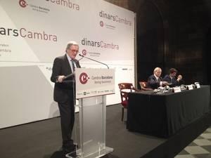 Xavier Trias felicita a L'Hospitalet por aprovechar las inversiones que deja perder Barcelona