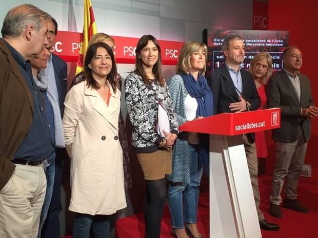 """El PSC reclama un salario mínimo metropolitano """"digno"""" de 1.075 euros"""