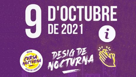 La Cursa Nocturna de L'Hospitalet de Llobregat se celebrará el 9 de octubre en apoyo a AFANOC