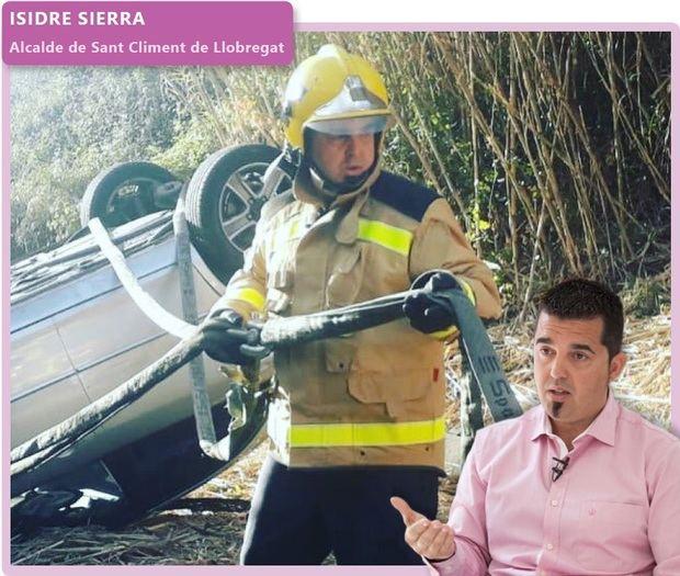 'Fora de context': Isidre Sierra, alcalde de Sant Climent de Llobregat