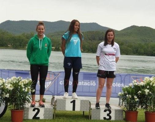 Janna Blaya, plata en el Campionat de Catalunya Open d'Aigües Obertes Júnior