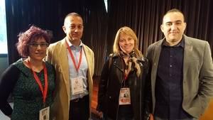 La 26ª edición de la Escuela de Verano será la primera de Javier Pacheco, a la derecha, como secretario general de CCOO Catalunya
