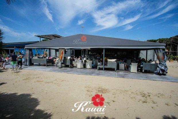 El Kauai es troba al Passeig Marítim de Gavà Mar.