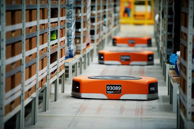 El nuevo centro logístico cuenta con la última tecnología en robótica de la compañía