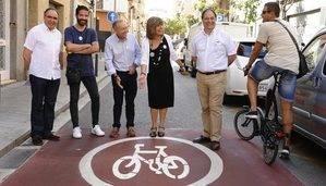 La travesía Industrial de L'Hospitalet contará con un nuevo carril bici entre Caterina Albert y Rambla de la Marina