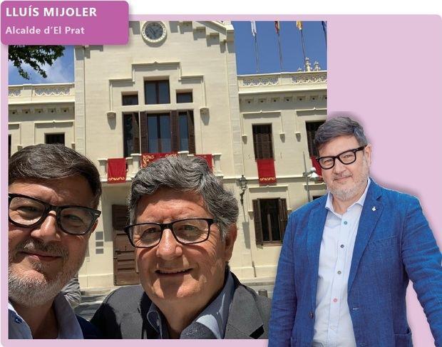 'Fora de context': Lluís Mijoler, alcalde d'El Prat de Llobregat