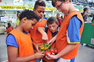 Más de medio millar de niños en situación de vulnerabilidad participan en el Campus de Verano de Mercabarna