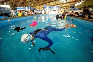 La piscina climatizada permitirá realizar bautizos de buceo.