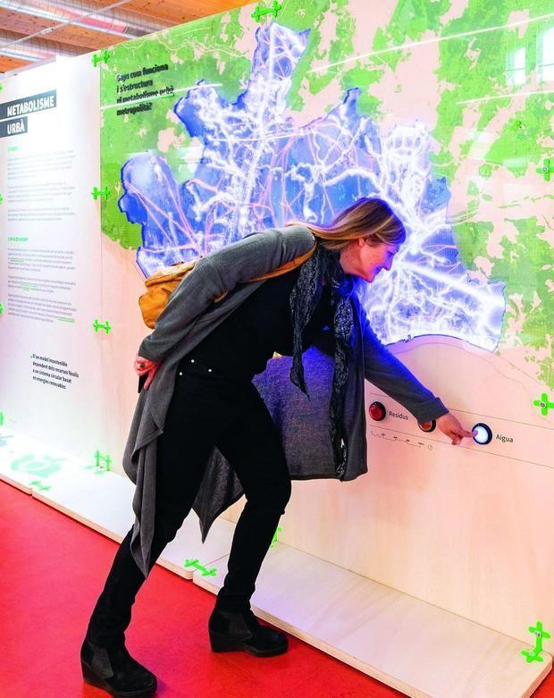 Una imatge de la mostra 'Metròpolis de ciutats: Repensar l'urbanisme metropolità'.
