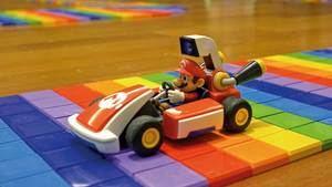 BCN3D regala a Super Mario Bros el mítico circuito Rainbow Road a escala