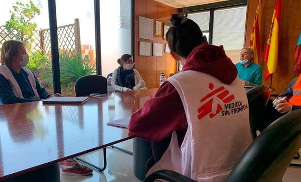 Un juzgado de Martorell abre diligencias por el veto de Salut al hospital de campaña de Sant Andreu de la Barca