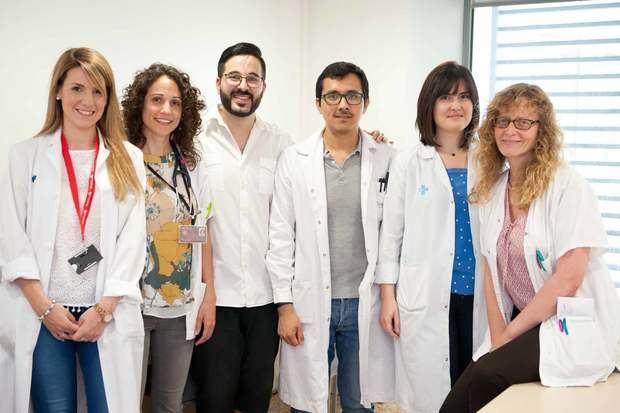 Miembros de la UFIP del Hospital de Bellvitge.