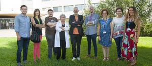 Miembros de la Unidad de Alergias del Hospital de Bellvitge