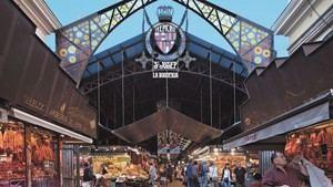 Mercados de Barcelona: La Boquería y Santa Caterina