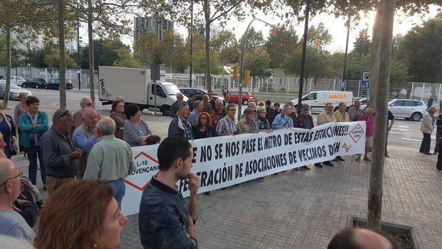 L'Hospitalet no quiere perder el tren de la L10 de metro