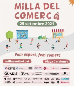 La Milla del Comercio, símbolo de la reactivación del deporte y el comercio en Sant Boi de Llobregat