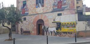 Mural de la calle Coscoll del municipio